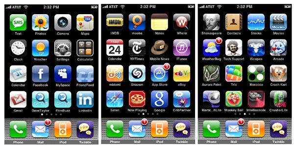 Application Arte Iphone